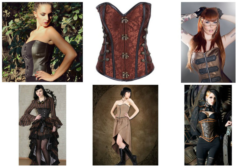 Steampunk Corsets