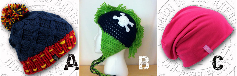 Winter Knit Snowboarding Ski Beanies for Stylers - Especially the Irokese/Mohawk Knit Hat