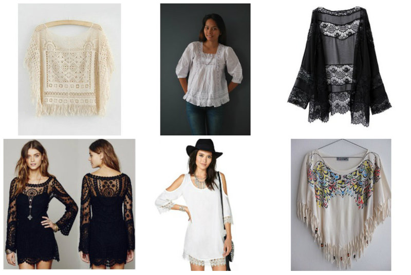 Peasant Tops and Sundresses