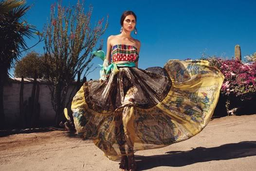 Mexican Inspired Fashion