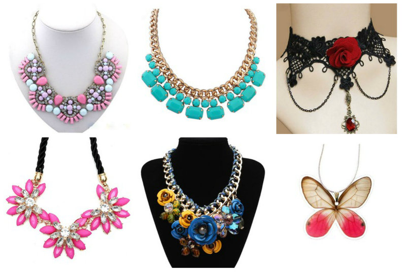 A statement necklaces makes a great conversation piece!