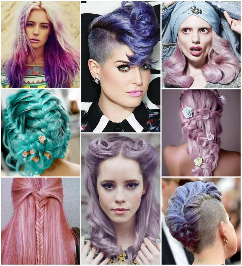 How To Rock Summer Pastel Hair