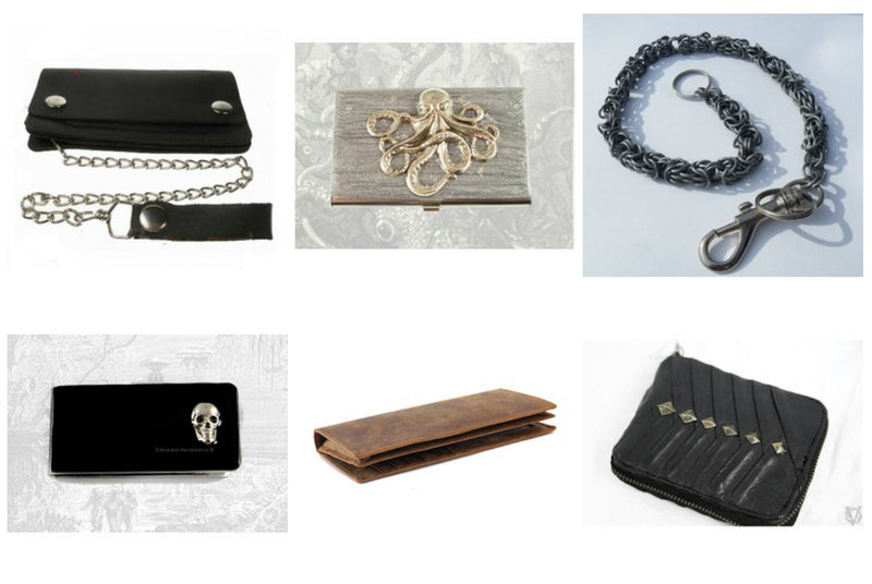 Wallets, Money Clips, and Other Accessories from RebelsMarket