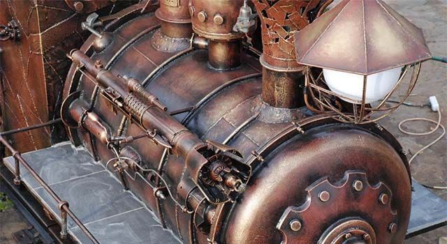 Steampunk Grilled