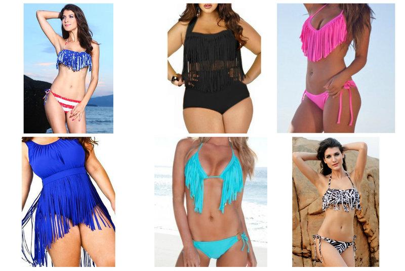 Fringe Swim Suits from RebelsMarket
