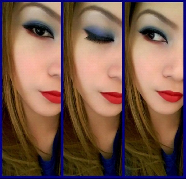 Cherish shares her favorite makeup tips for a patriotic flair.