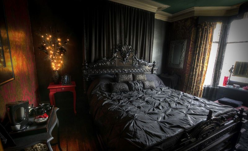 Goth Bedroom Decorating Ideas Creating A Gothic Haven In Your Bedroom