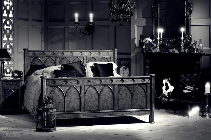 Goth Rooms creating a gothic haven in your bedroom