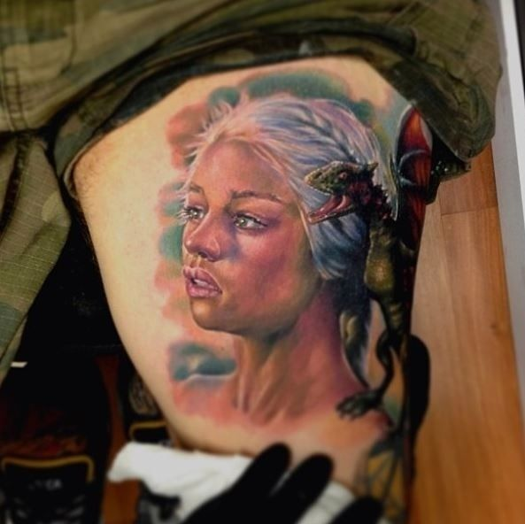 10 Outstanding Game Of Thrones Tattoos & The Most Shocking Scene Of TV ...