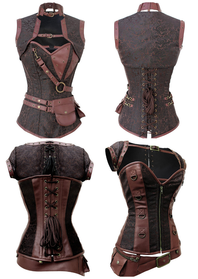 Sexy Game of thrones corset battle clothing
