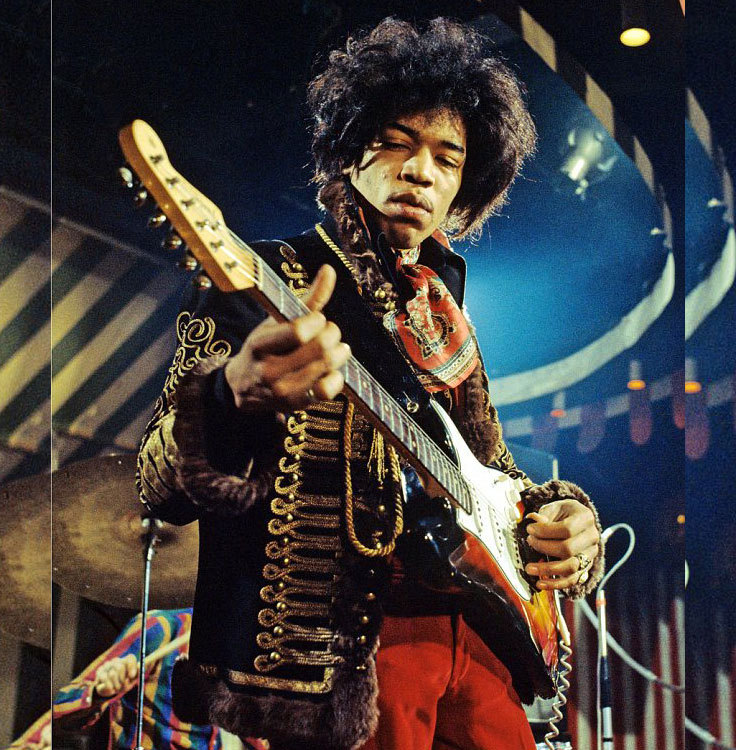 Guitar legend Jimi Hendrix left the music world at 27 years old