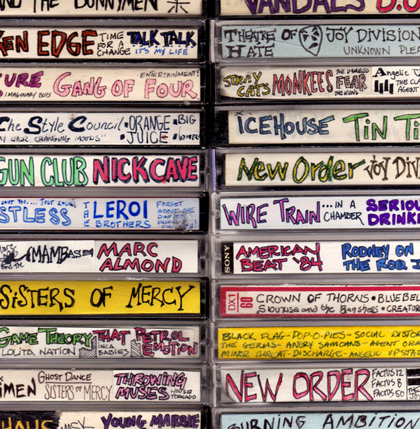 Mixed cassette tapes were meant to be stored as well as shared!