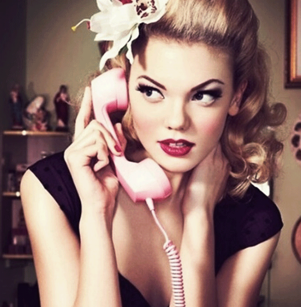 Forget about having privacy - home phone calls became everyone's business!