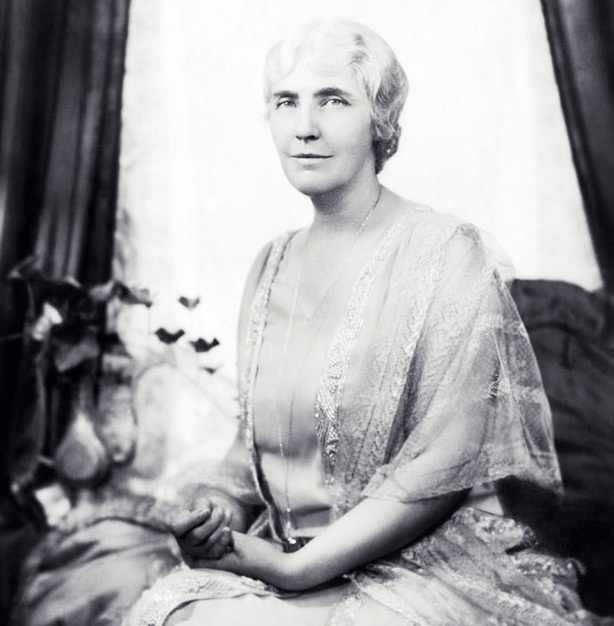 Former First Lady Lou Henry Hoover was the first to make regular nationwide radio broadcasts.