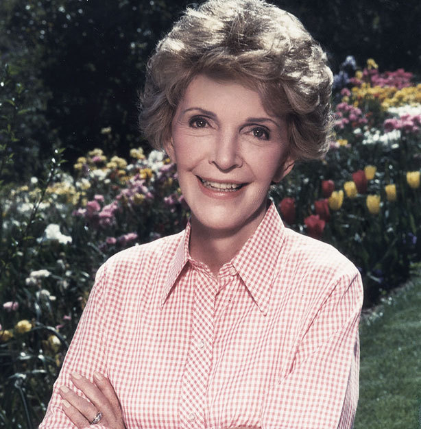 "Former First Lady Nancy Reagan founded the ""Just Say No"" drug awareness campaign."