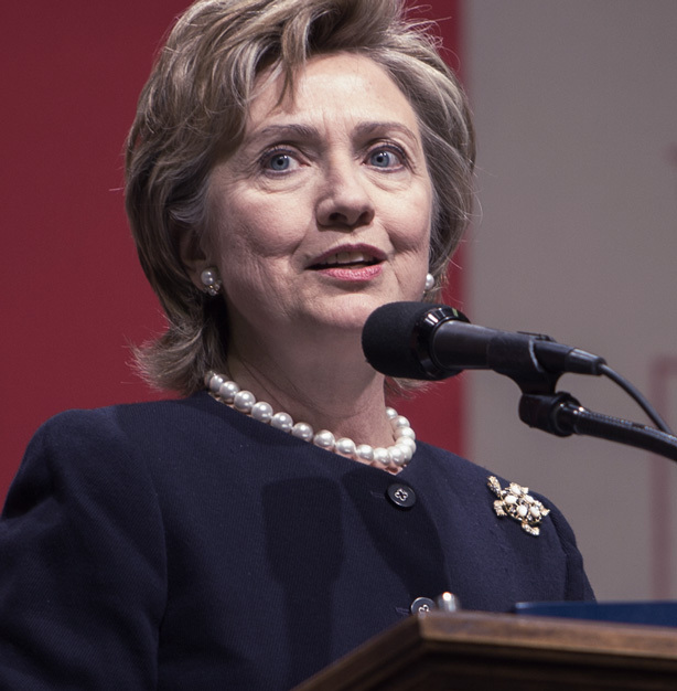 Former First Lady Hillary Rodham Clinton could make history as the first female president!