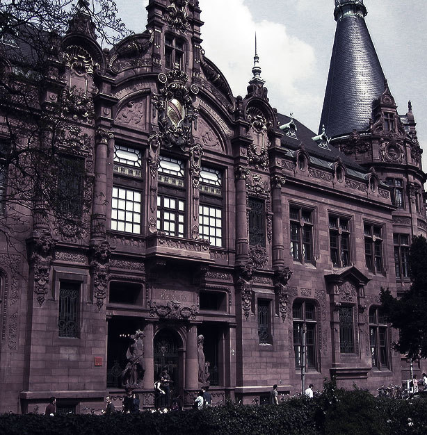 Spooky schools - Heidelberg University, Heidelberg, Germany has a history of hauntings.