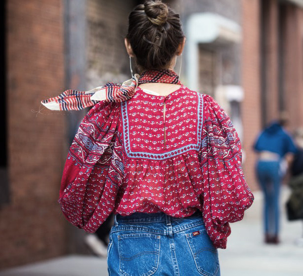 New York Fashion Week Street Style Must Haves - Puffy Blouses