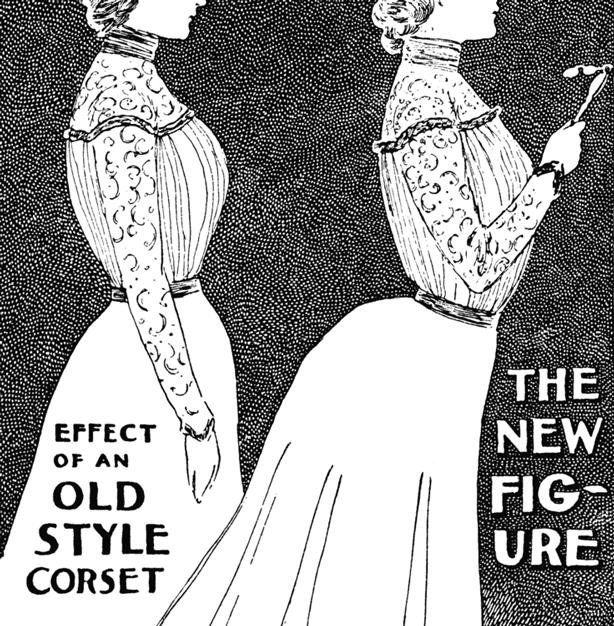 Wearing corsets will not endanger your bones.