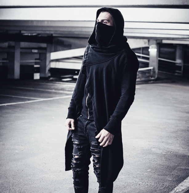 Assassin style hoodies are a must have for Goth style.