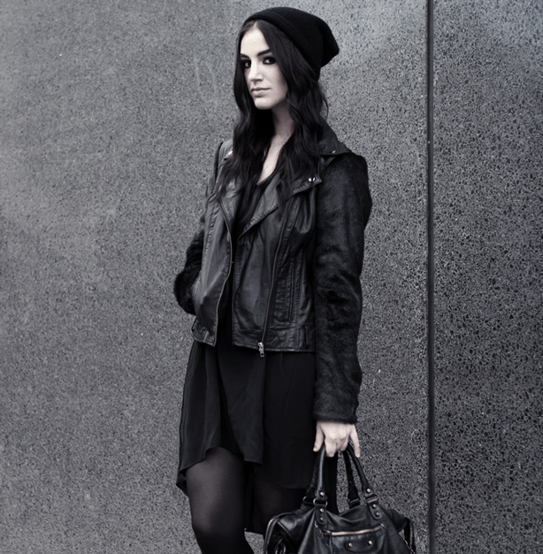 Get Goth Style with Black Leather Jackets