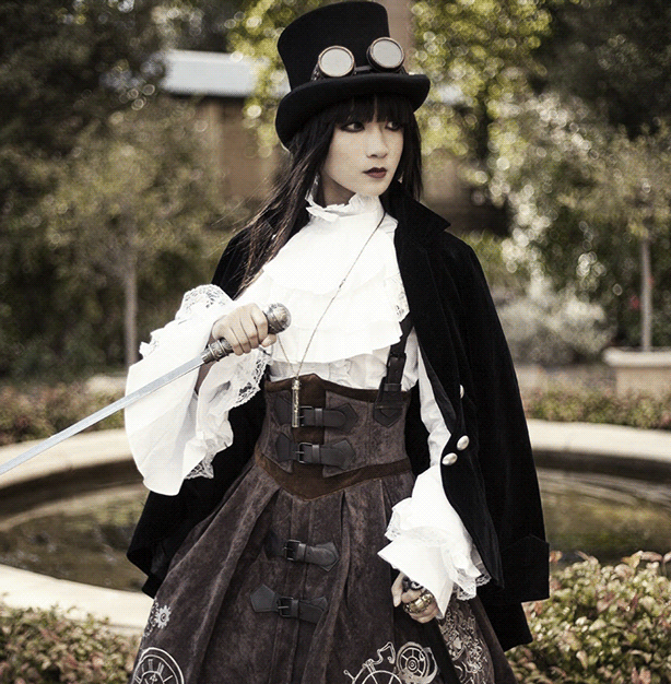 Leather and Lace can bring Steampunk to your Office Wardrobe.