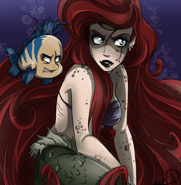 Have you heard the horrific ending to the original Little Mermaid?