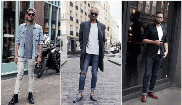 Style men's skinny jeans the right way.