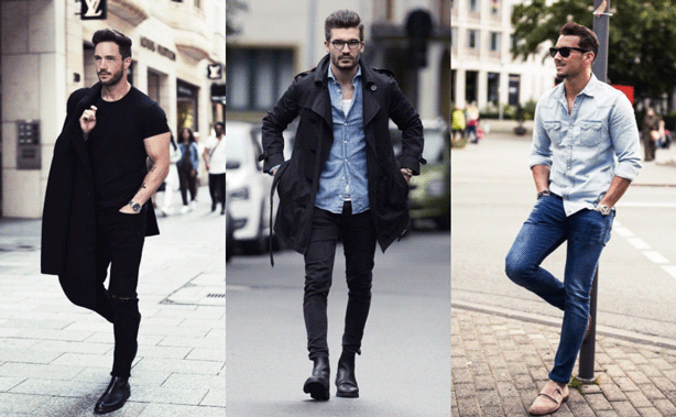 Learn how to style men's skinny jeans.