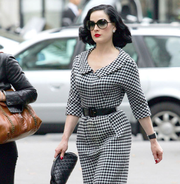 Love Dita's retro style? Learn how to recreate her looks here -