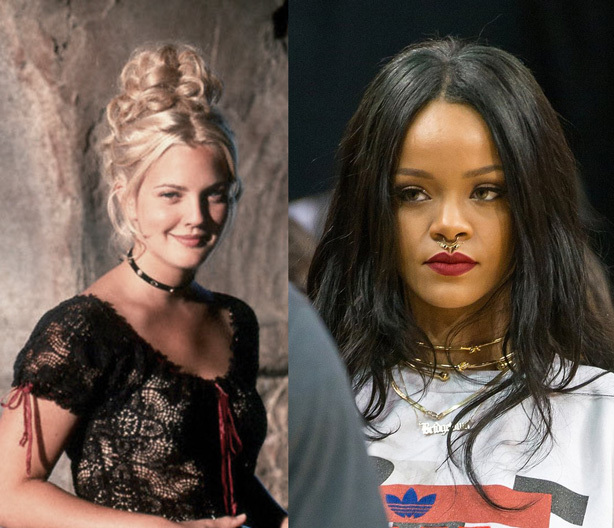 Then and Now - The 90s Choker Trend gets a new look.