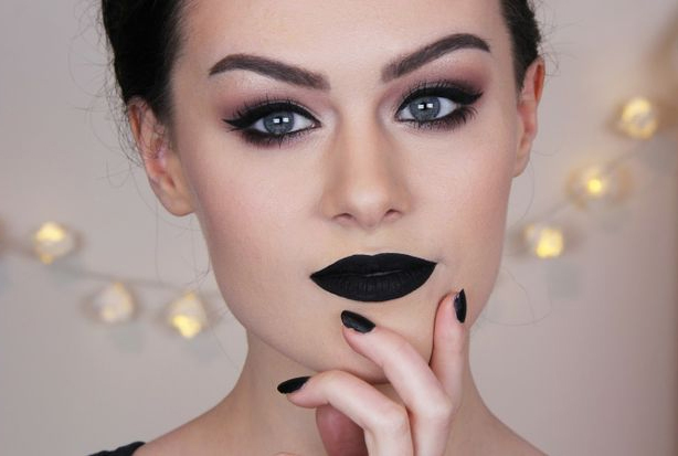 Yes, black lipstick can be worn during the day without looking costume-ish. Learn how here -