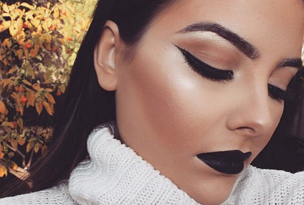 Black lipstick is not just for Goths anymore. Learn how to try the look here -