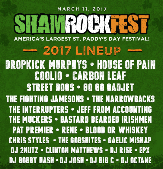 ShamrockFest 2017 - DC Hosts America's Hottest St. Paddy's Day Party!