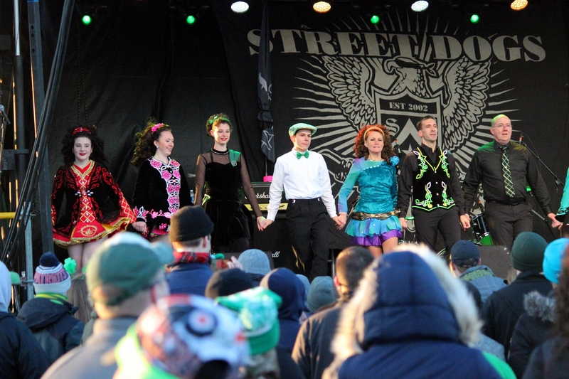 Traditional Irish Dancers at ShamrockFest 2017