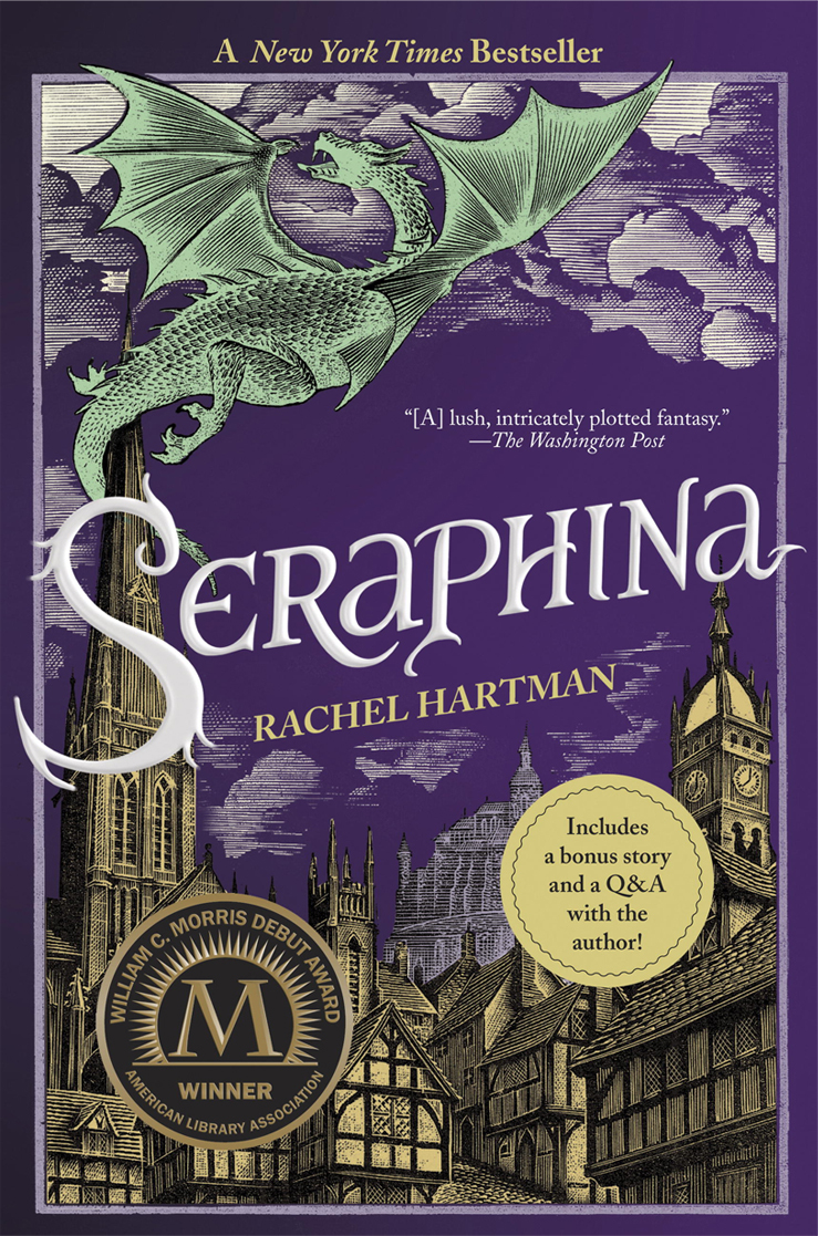 Seraphina book cover art