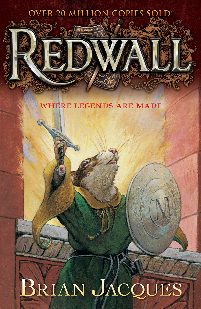 Redwall book cover art