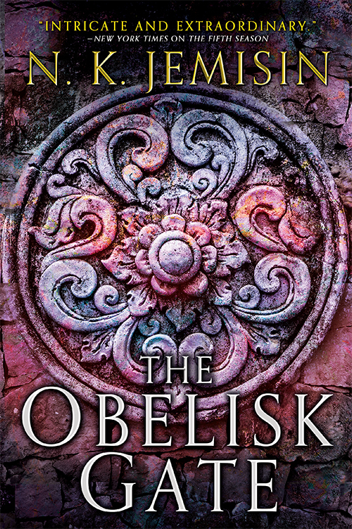 The obelisk gate fantasy book cover