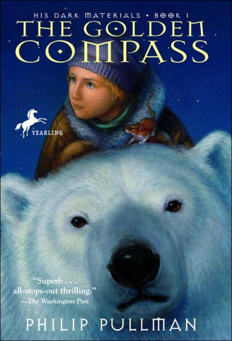 The golden compass book cover art