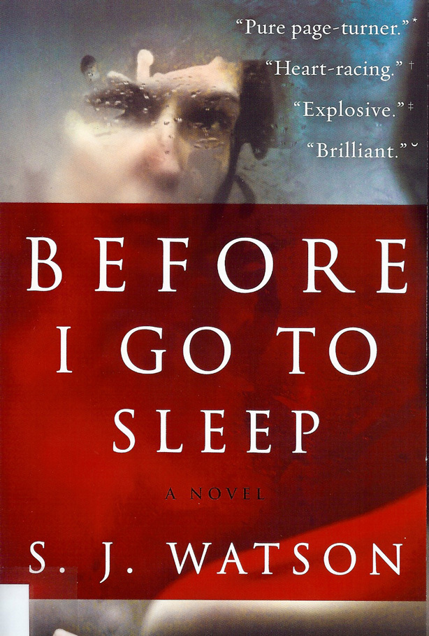 Your Summer Reading List: Before I Go To Sleep