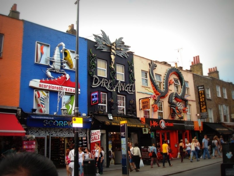 7 Coolest Alternative Street Markets In The World: Camden Market, London