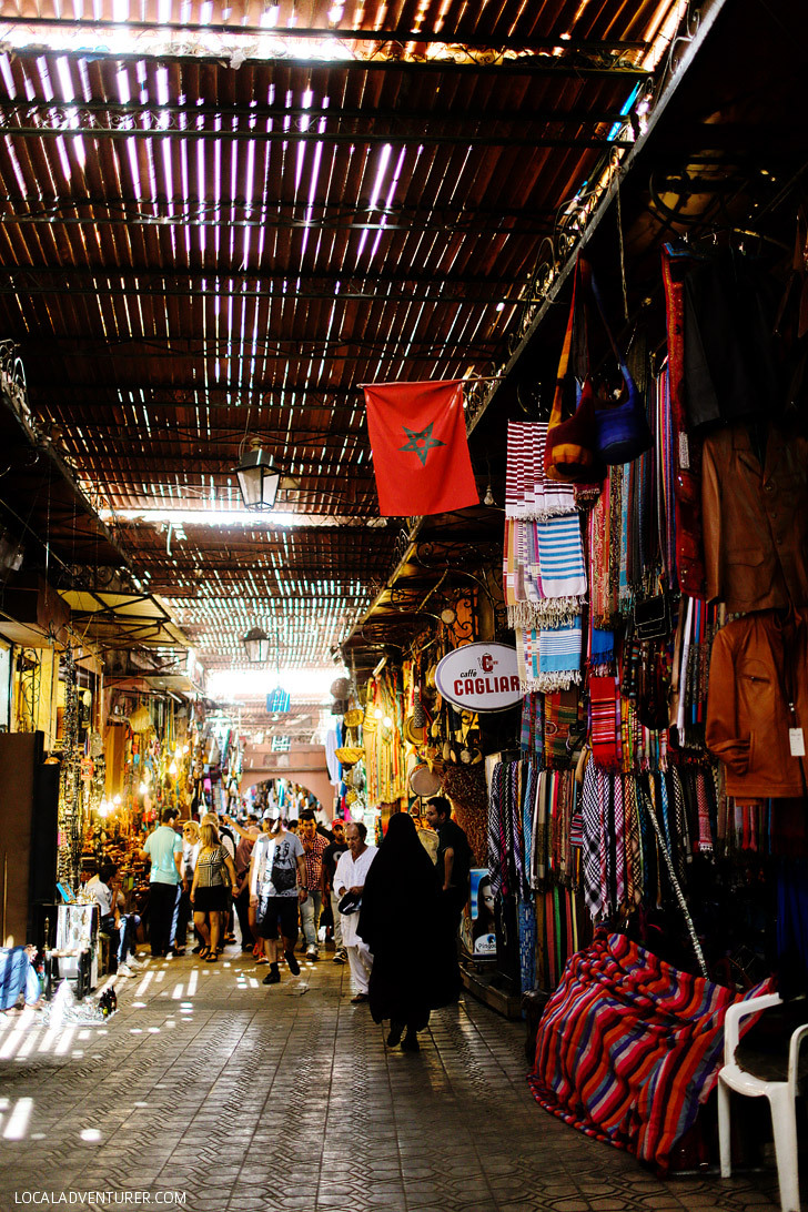 7 Coolest Alternative Street Markets In The World: Djemaa el-Fna, Morocco