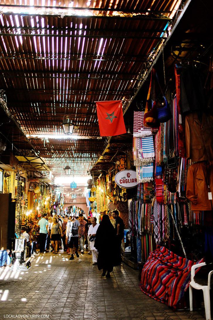 7 Coolest Alternative Street Markets In The World: Djemaa el-Fna, Morocco