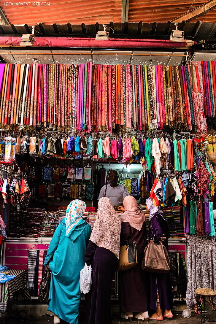 7 Coolest Alternative Street Markets In The World: Djemaa el-Fna, Marrakech