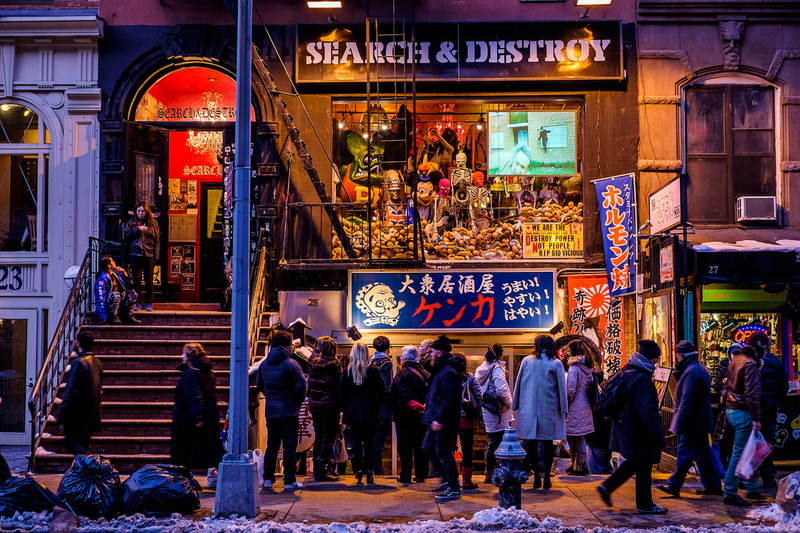 7 Coolest Alternative Street Markets In The World: St Mark's Place