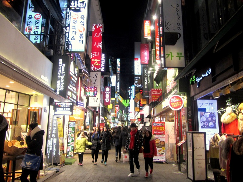 7 Coolest Alternative Street Markets In The World: Myeongdong Shopping District