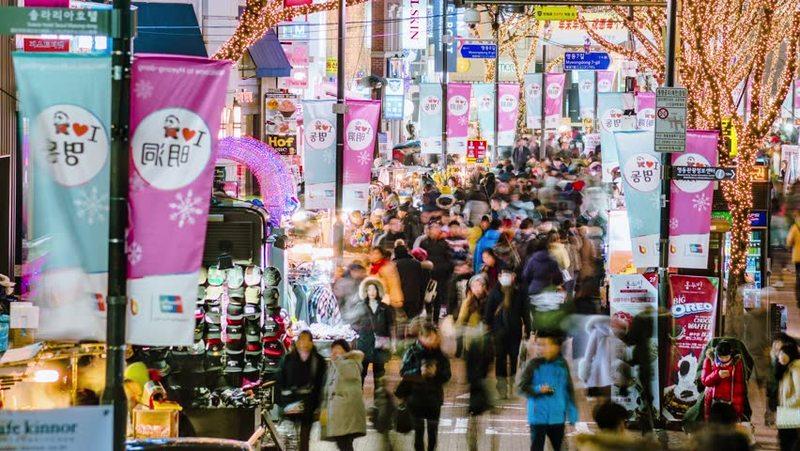 7 Coolest Alternative Street Markets In The World: Myeongdong, Korea