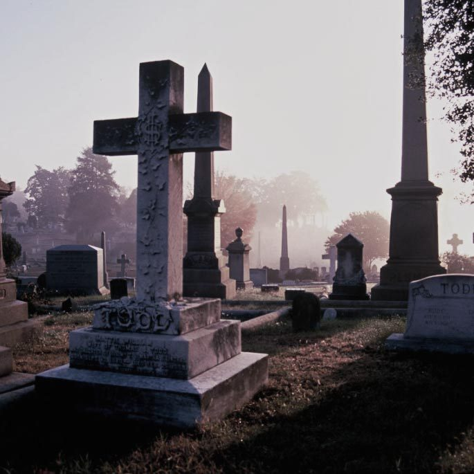 Gothic Cemeteries to Visit: Hollywood Cemetery, Virginia