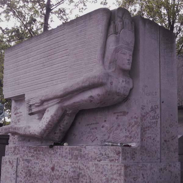 Top Cemeteries to Visit: Gothic Cemetery Père Lachaise, France