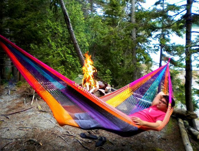 A Hammock is a Mist-have for Summer Camping